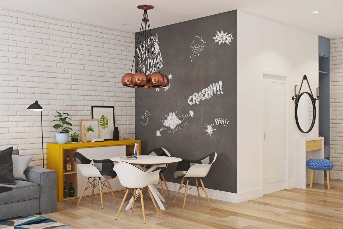 Светлая квартира для молодой семьи в Москве