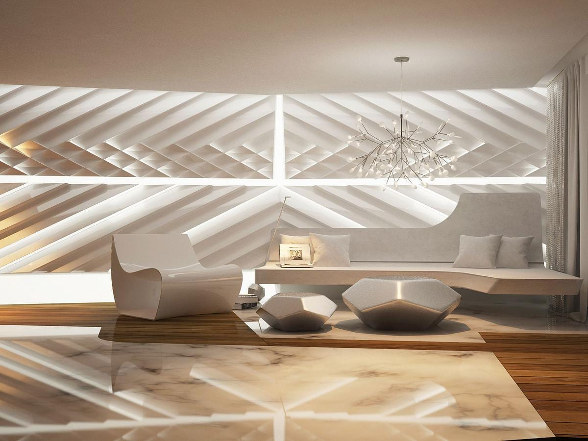 Ультра-современный интерьер квартиры от Bozhinovski Design