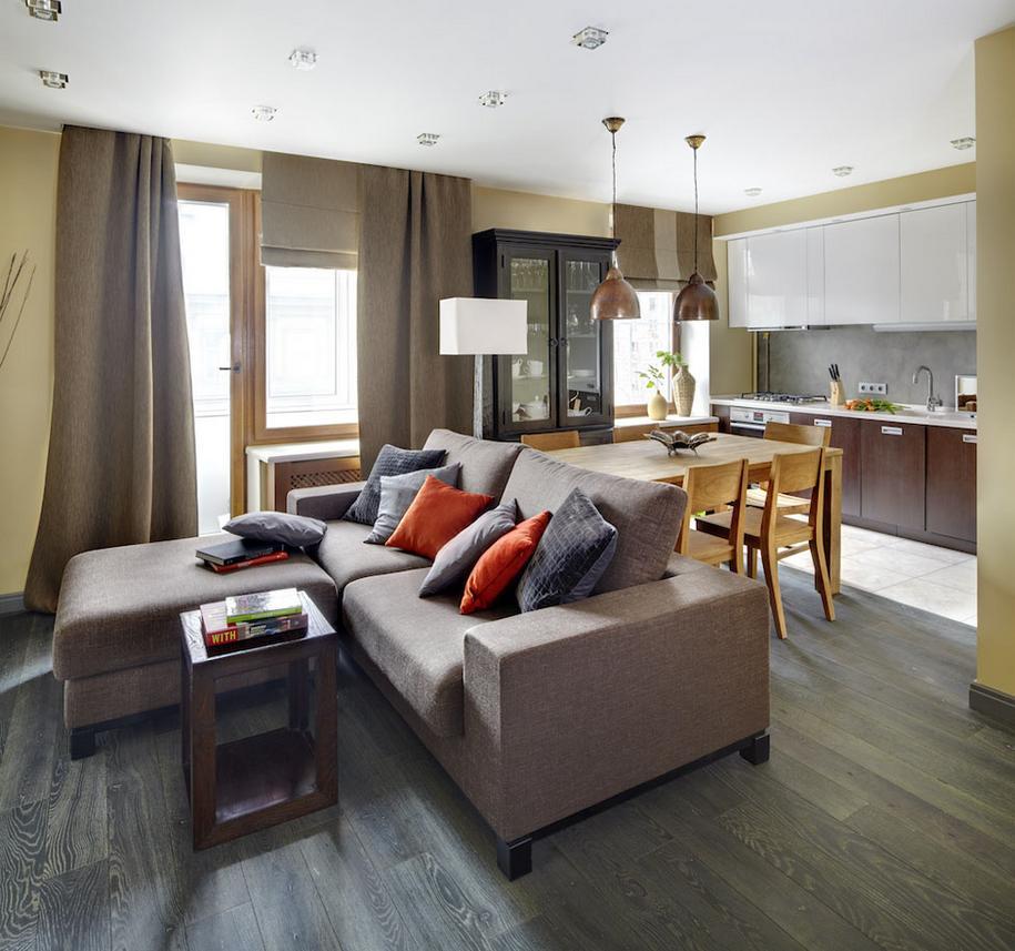 Уютная квартира в Москве от студии Однушечка