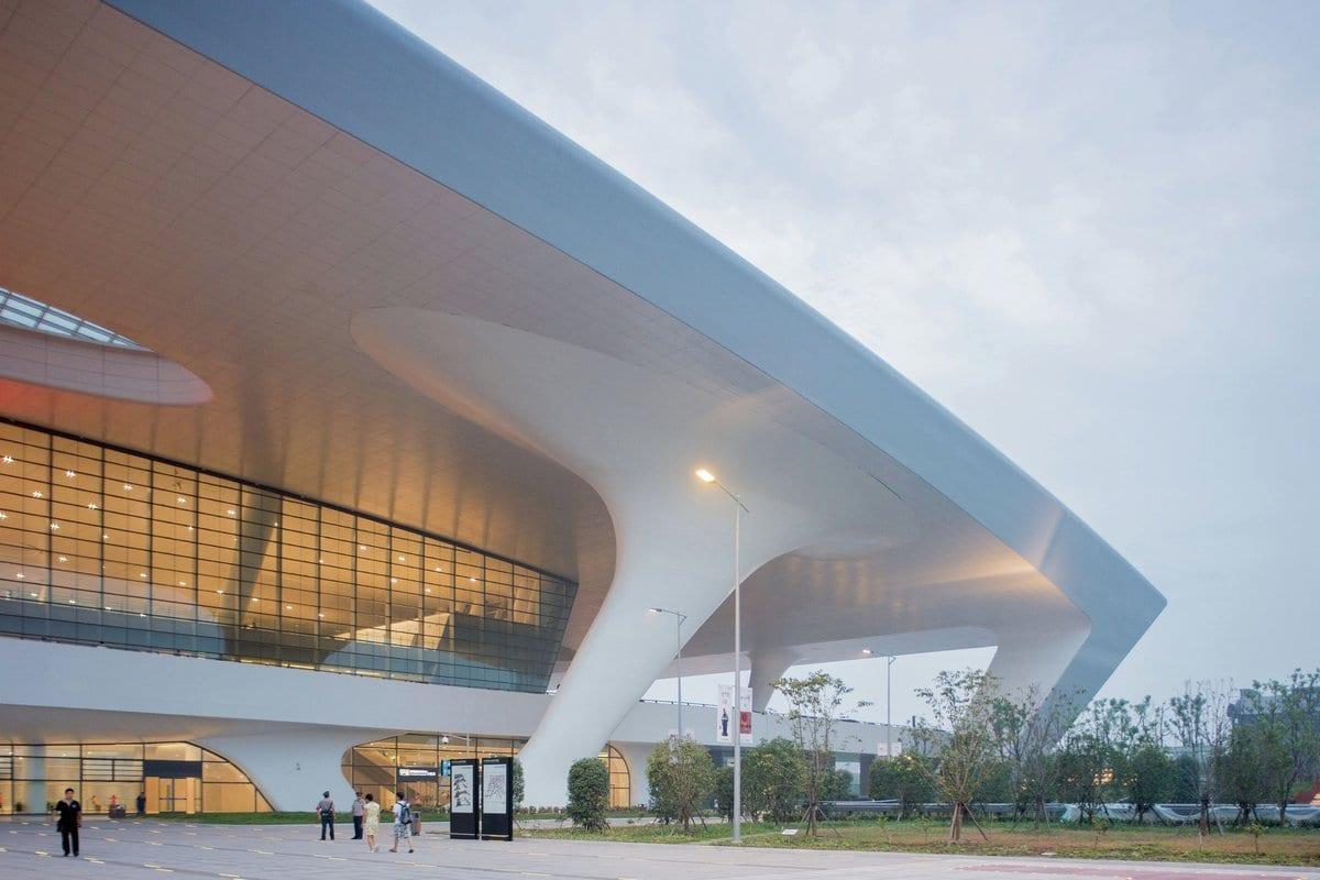 CSADI, Hangzhou East, Ханчжоу, железнодорожная станция в Китае, городская архитектура Китая, архитектура Китая фото