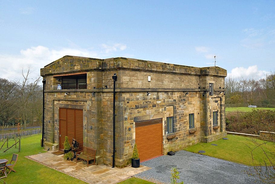 Жилой дом в здании насосной станции в Англии за 33 миллиона